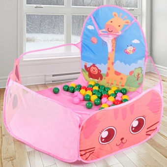 Foldable Funny Ocean Ball Pit Pool Tent Kids Play Set Toy - intl