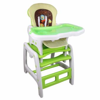 Forbaby multipurpose High chair Feeding Chair with table ChairDining and study Table for baby (Green)