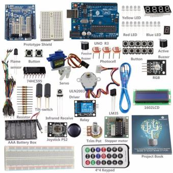 From Knowing to Utilizing Kit V1.0 Starter Basic Kit for ArduinoUNO R3 - intl Price Philippines