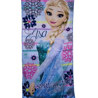 "Frozen Elsa Microfiber Bath Towel 24""x48"" (lt blue) Price Philippines"