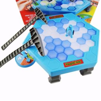 Funny Game Penguin Trap Activate (SkyBlue) - 3