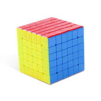 G6 68mm Speed Cube Brain Teaser 6x6 Stickerless Twisty Puzzle Competition Magic Cube Multicolor - intl