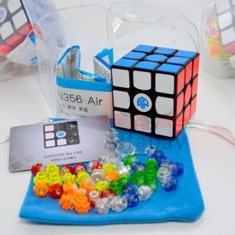 Gan 356 Air UM Ultimate Magnet Speed Cube Gans 356 3x3 Black - 2
