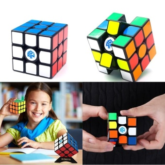 GAN356 AIR 3x3x3 Magic Cube Speed Twist Puzzle Magic Rubik'sSpeedcube Cube Smart Games Toy Educational Toy - intl