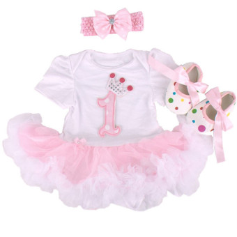 Gargon D Baby Girl Princess Little Romper Skirt Cotton Dress First Birthday Celebrity Dress Price Philippines