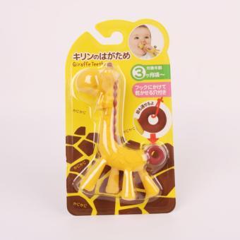 Giraffe Baby Soother Teether, Green - 4