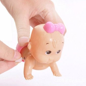 Girl Cute Windup Crawling Toy Doll Christmas Gift for Child BabyKid - Intl - 2