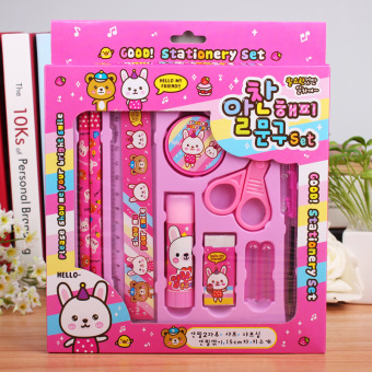 Girl's young student's kindergarten gift box pencil cases