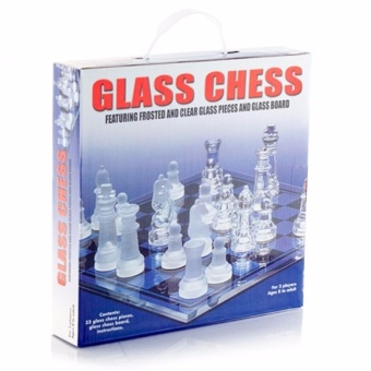 Glass Chess Set ( Large)