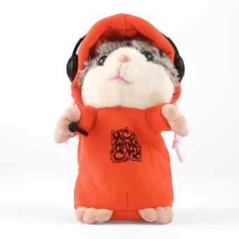 GOOD Cute Talking Hamster Plush Toy Sound Record Hamster Toy Animal Toy