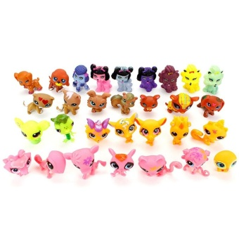 Great Fun 8pcs Littlest Pet Shop 100% Original Loose Animals Figures For Child Girl Toys - intl Price Philippines