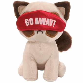"Gund - Grumpy Cat Box O Grump Nighty Night 4.5"" Plush Toy Price Philippines"