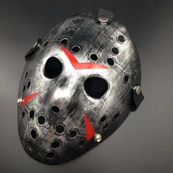 Halloween cosplay costume Porous Mask Jason Voorhees Friday The13th Horror Movie Hockey Mask - intl