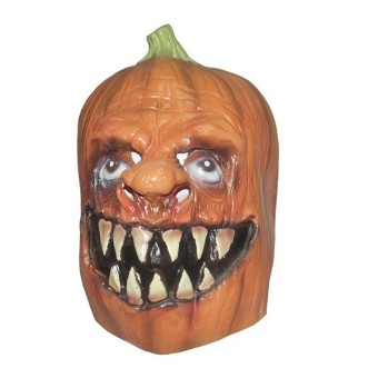 Halloween Cosplay Latex Pumpkins Mask - picture 2