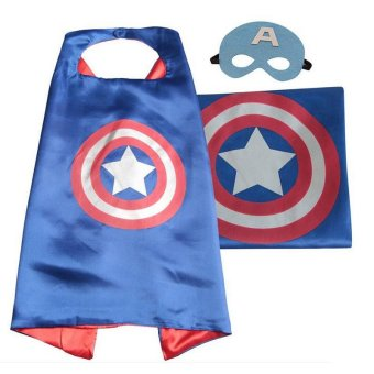 Halloween girls child costumes for kids boys party carnival cosplaybaby costume accessories clothing Clothes superhero capes(Wigs& Masks) - intl