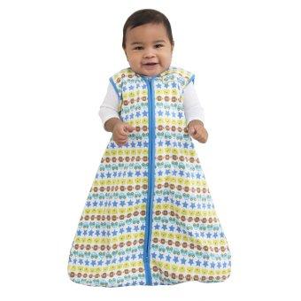 Halo SleepSack Cotton Wearable Blanket XL (Blue Cars Stripe) - picture 2