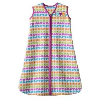 Halo SleepSack Cotton Wearable Blanket XL (Pink Stripe Icons)