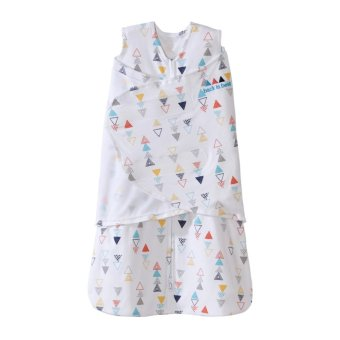 Halo SleepSack Swaddle Multi Color Triangle NB