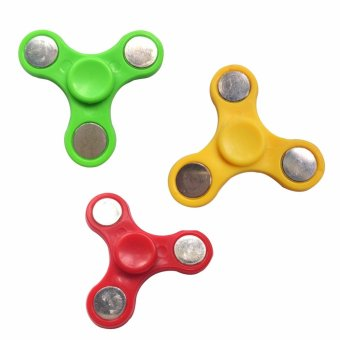 Hand Fidget Gyro Spinner SET OF 3 (Color May Vary) Price Philippines