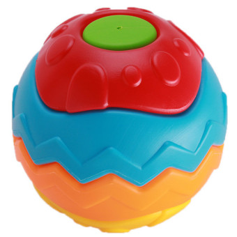 Hang-Qiao Baby Educational Toys Fitness Ball Multicolor - picture 2