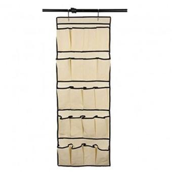 Hanging Storage 20 Pocket Over the Door Organizer Space Saver RackShoe Holder - intl - 3
