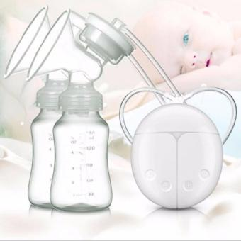 Hanzel-RH228 Mother Manual Double Electric Breast Pump (White)