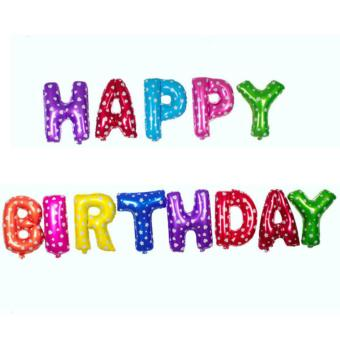 Happy Birthday Letter Foil Set Price Philippines