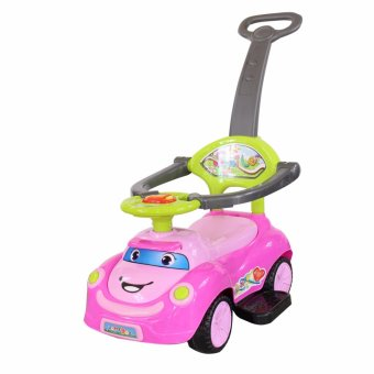 Happy day Ride-on Kids Car Child Toy (Pink)
