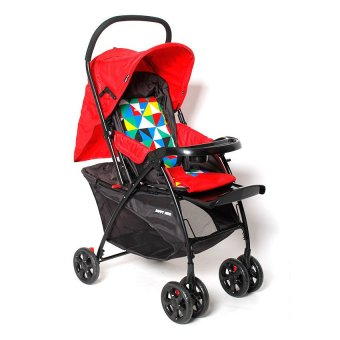 Happy Dino High Impact Stroller (Red) Price Philippines
