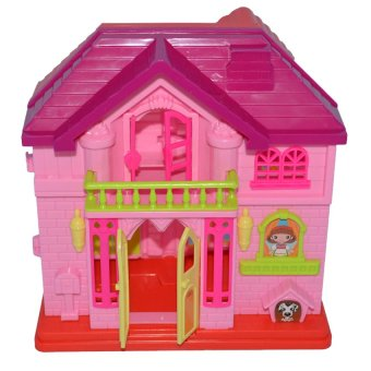 Happy Family Doll House Set (Pink) Price Philippines
