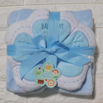 HAPPY KIDS Kiddie 2 in 1 Baby Blanket and Baby Pillow