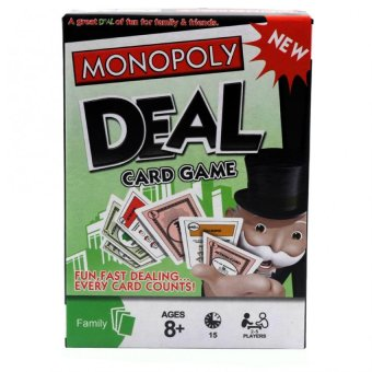 HAPPY KIDS Monopoly Deal Fun and Learning Board Game