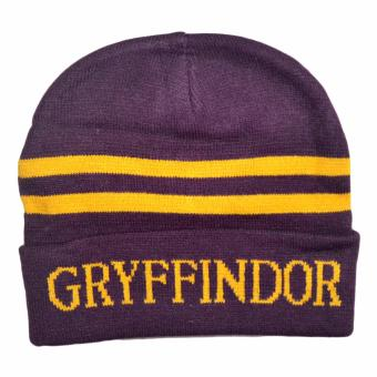 Harry Potter Gryffindor Cosplay Bonnet Warm Hat Logo Name