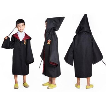 Harry Potter Kids Gryffindor Cloak Robe Costumes Cosplay Size - 125 - intl
