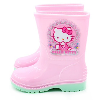 Hello Kitty children rain boots non-slip children's shoes water shoes