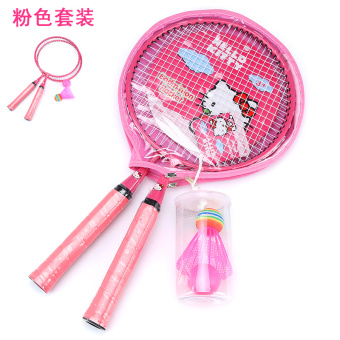 Hello Kitty children's badminton racket large round tennis racket
