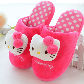Hello Kitty children's cotton slippers