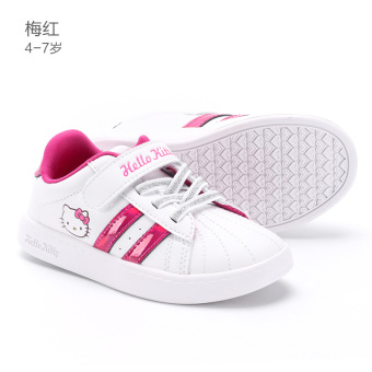 Hello Kitty girls white shoes children's shoes