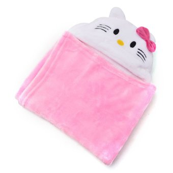 Hello Kitty Hooded Blanket (Pink) Price Philippines