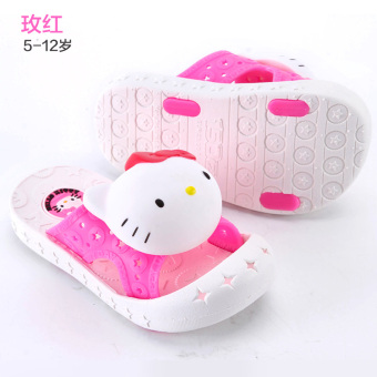 Hello Kitty non-slip children's home shoes sandals