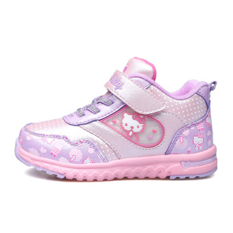 Hello Kitty Plus velvet winter New style warm casual children's shoes