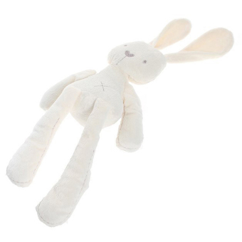 HengSong Rabbit Doll Baby Toy Plush Toys Beige - picture 2