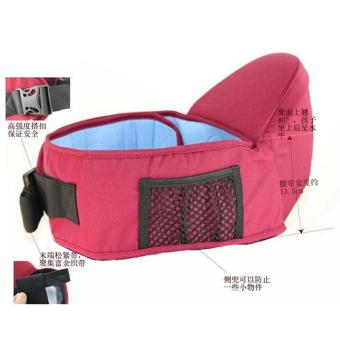HEQIN Baby Carrier Hip Seat /Top Baby Sling Belt (Pink)