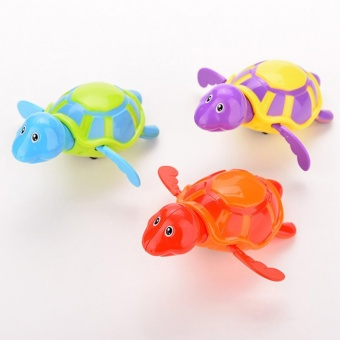 High Quality Baby Toys Little Turtle Bath Toys Swimming Animal Water Toys for Boys Girls Kid Children Random - intl Price Philippines