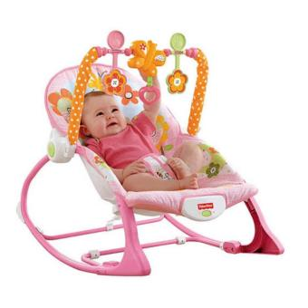 High Quality Fisher-Price Infant-to-Toddler Rocker Bunny (Pink) Price Philippines