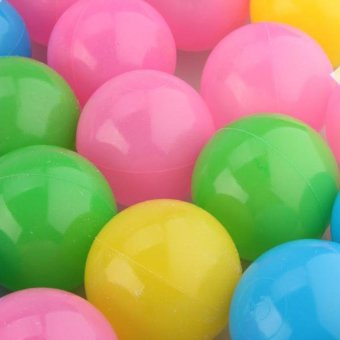 HKS 50pcs 5.5cm Colorful Soft Plastic Water Pool Ocean Ball Baby Kid Swim Pit Toy - Intl - picture 2