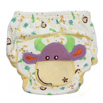 HKS Baby Diaper Nappy Diaper Covers Potty Training Pants (size M cow) - Intl - picture 2