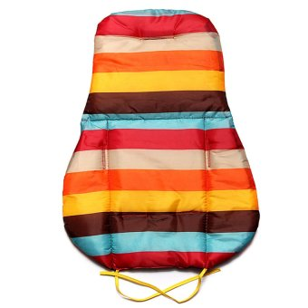 HKS Baby Stroller Cushion Pad Pram Padding Liner Car Seat Pad Rainbow Waterproof - Intl