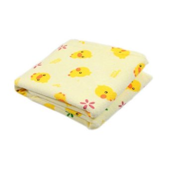 HKS Baby Waterproof Washable Diaper Changing Mat Pad (Yellow) (Intl)