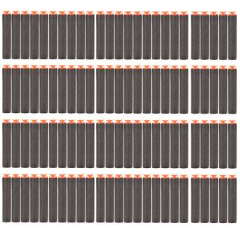 HKS Black Refill Foam Darts for Nerf N-Strike 100 Pcs (Intl)